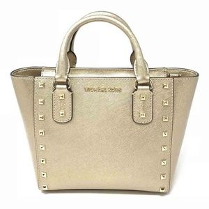 Michael Kors Sandrine Stud Small Crossbody Bag